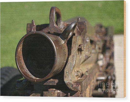 Kaboom Wood Print