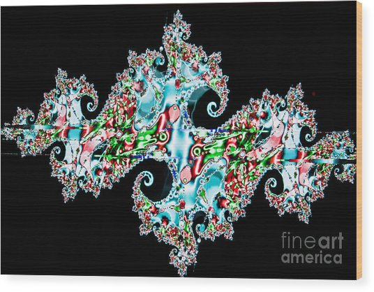 Kaleidoscope Wood Print by Tashia Peterman
