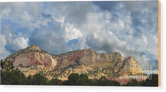 Kanab Utah Wood Print
