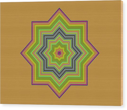 Karac No.1 Wood Print by Danny Lally