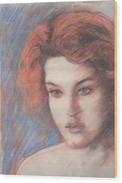 Kate Winslet Wood Print
