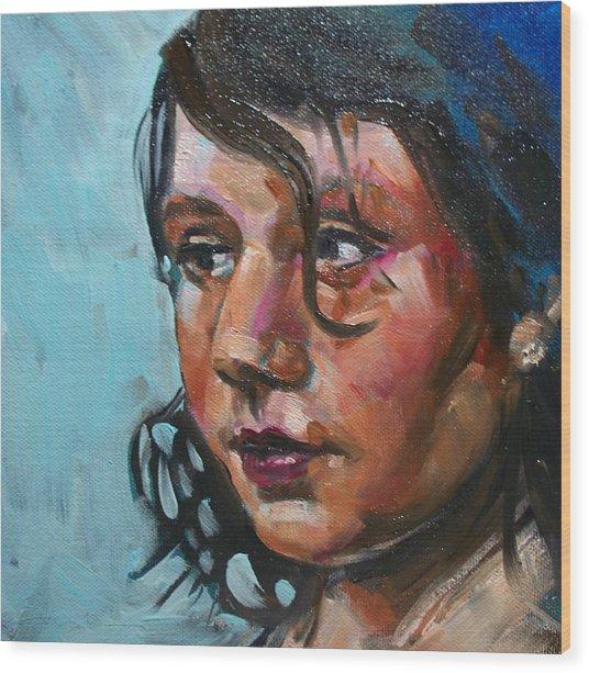Katie Wood Print by Sheila Tajima