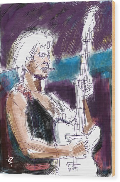 Keith Wood Print by Russell Pierce