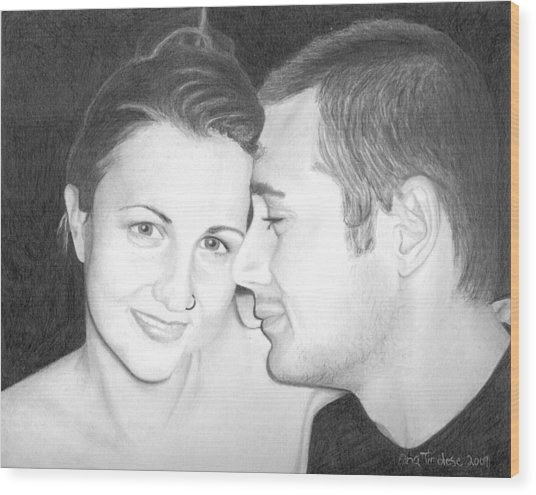 Kelly And Chris Lanktree Wood Print