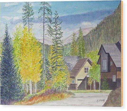 Keystone Co Wood Print