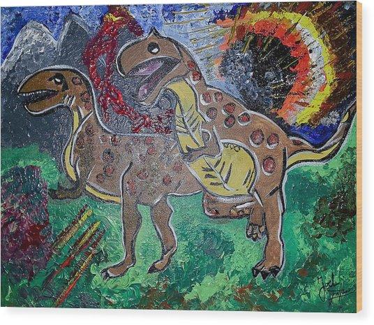 King Di-nojoel Wood Print