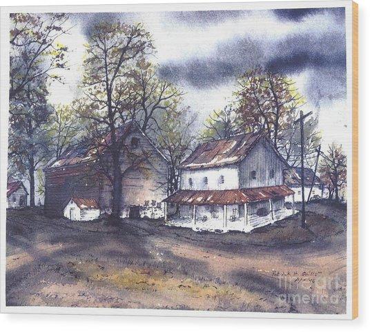 Kinkead Farm Wood Print