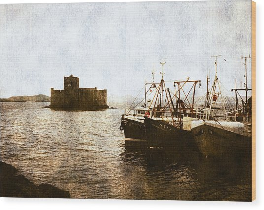 Kisimul Castle Scotland Wood Print