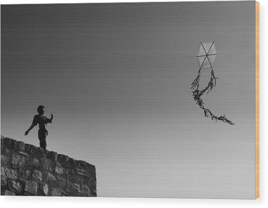 Kite-2 Wood Print