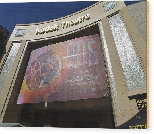 Kodak Theatre Wood Print