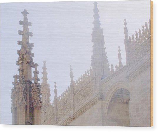 Laced Granada Wood Print by Lee Versluis