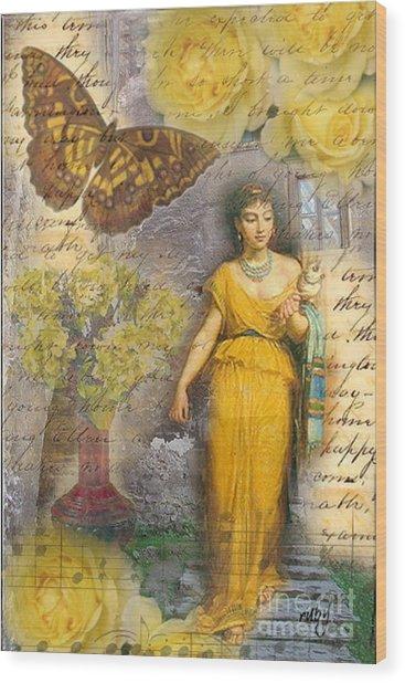 Lafileuse Of 1874 Wood Print