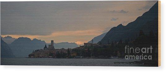 Lago Del Garda Wood Print
