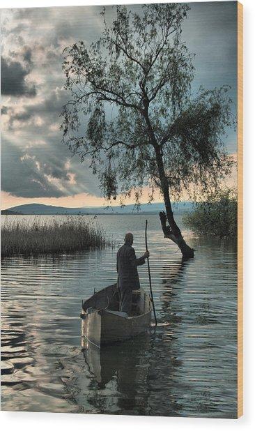 Lake - 2 Wood Print