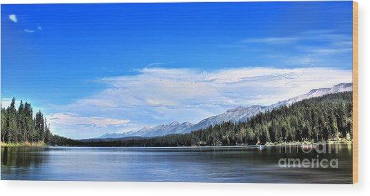 Lake Alva Wood Print