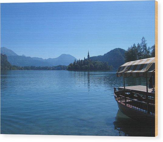 Lake Bled Wood Print