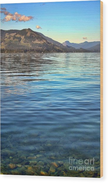 Lake Cowichan Bc Wood Print