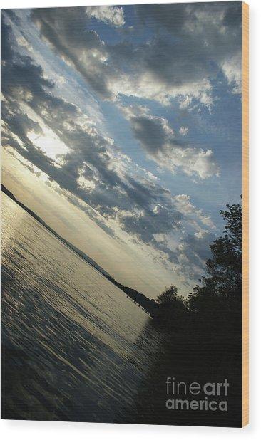 Lake Down Wood Print
