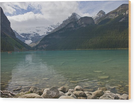 Lake Louise - 1274 Wood Print