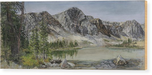 Lake Marie Wood Print