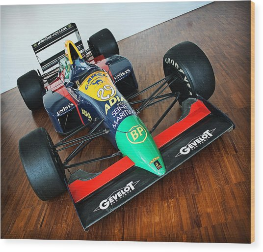 Lamborghini Formula One Wood Print by Graham Parry