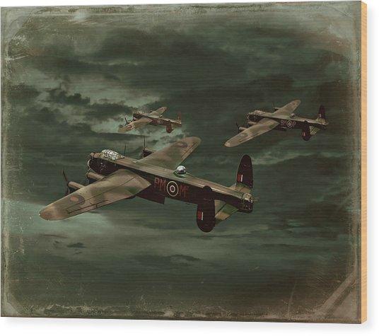 Lancaster Mission Wood Print