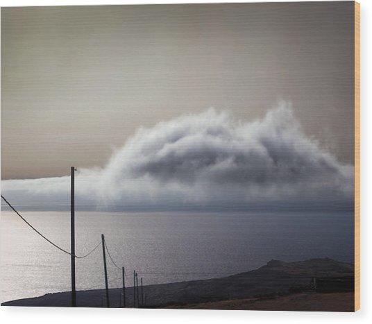 Landscape #15 Wood Print