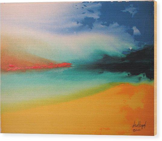 Landscape 2 Of 2012 Wood Print