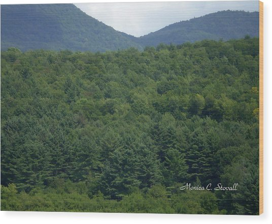 Landscape Collection - Vermont  Wood Print