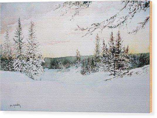 Landscape21012 Wood Print
