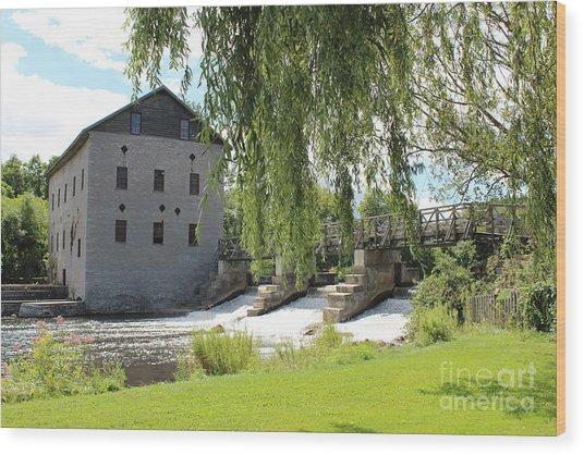 Lang Mill Wood Print