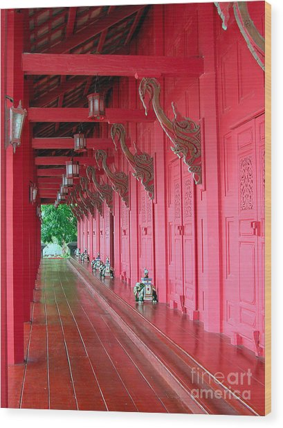 Langkawi Summer Palace Wood Print by Graham Taylor