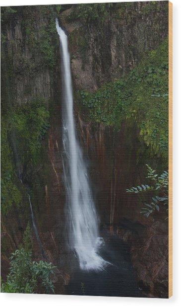 Lapaz Waterfall Wood Print
