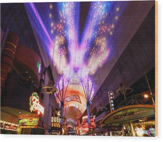 Las Vegas 062 Wood Print by Lance Vaughn