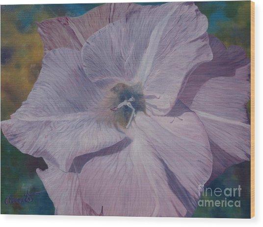 Lavender Love Spell Wood Print