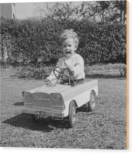 Learner Driver Wood Print by John Pratt