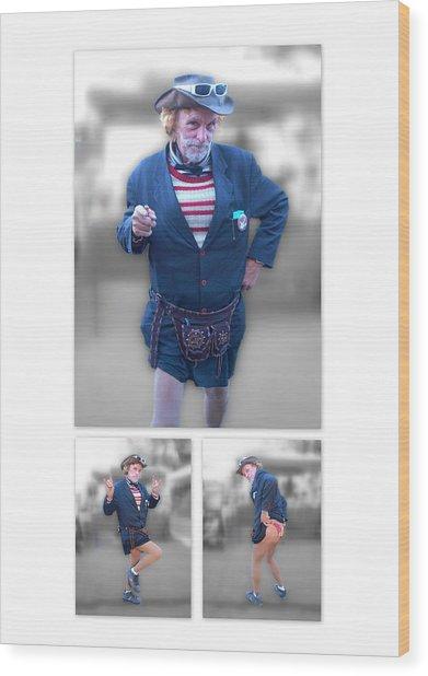 Leslie Cochran Collage 1 - 5x7 Aspect Wood Print