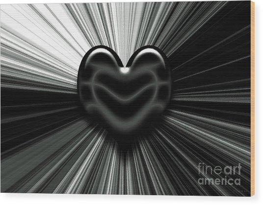 Let Love Shine Wood Print