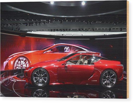 Lexus Lf-lc Wood Print