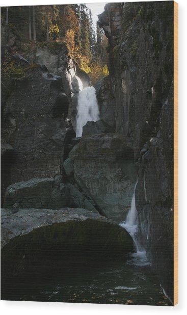 Liberty Falls Wood Print
