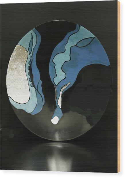 Life-1 Wood Print by Su Yang