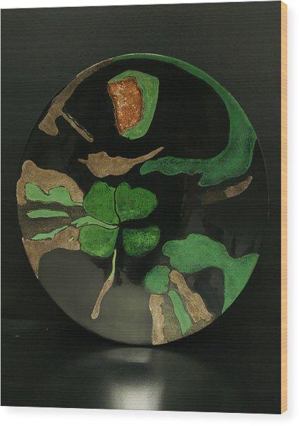 Life-3 Wood Print by Su Yang