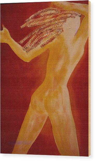 Light Body Wood Print