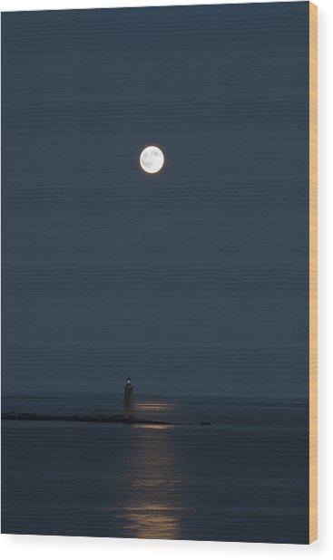 Light Of The Moon Wood Print