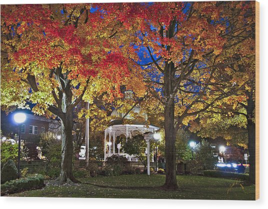 Ligonier Diamond At Night Wood Print