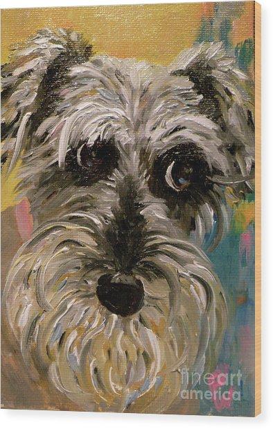 Li'l Millie Wood Print