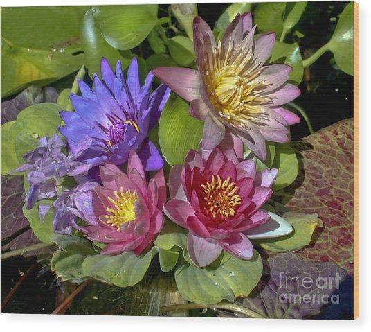 Lilies No. 11 Wood Print