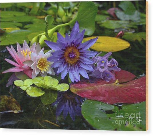 Lilies No. 13 Wood Print