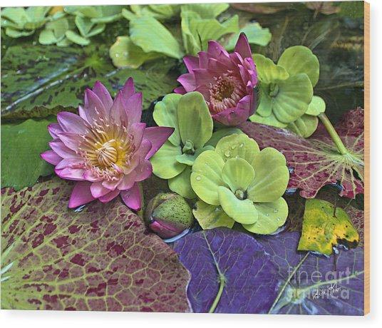 Lilies No. 33 Wood Print