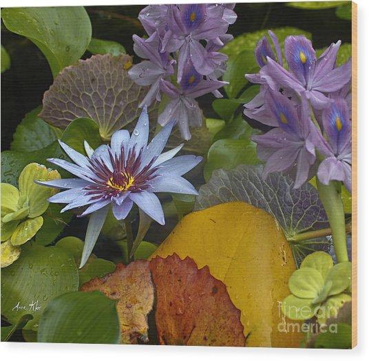 Lilies No. 37 Wood Print